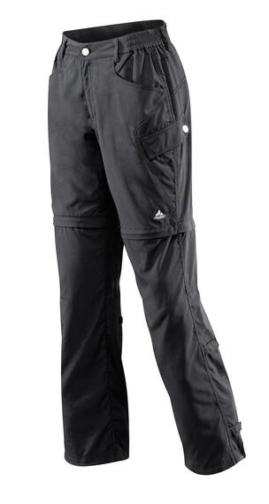 VAUDE Women's Lakeside Zip Off Pants black